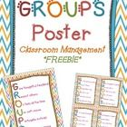 Free GROUPS poster