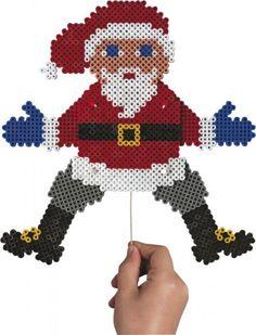 Strijkkralen Kerstman