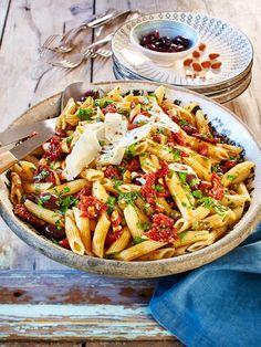 #Nudelsalat geht immer. Aber hast du diese italienische Variante schon einmal ausprobiert?