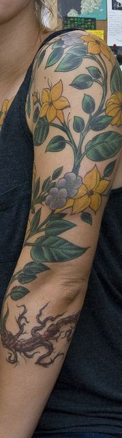 finally finished my sleeve! by ramsey everydaypants, via Flickr