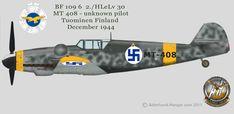 Luftwaffe Profiles part III by Adlerhorst-Hangar design group: BF 109 G6 Finnish Airforce Profiles