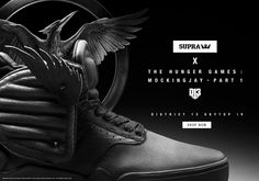 Skytop IV x The Hunger Games (District 13)
