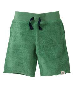 Grass Organic Shorts - Infant, Toddler & Boys by Burt's Bees Baby #zulily #zulilyfinds