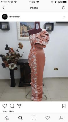 Awesome latest african fashion look 1755247830 Latest African Styles, African Lace Styles, African Lace Dresses, African Dresses For Women, African Fashion Dresses, Ghanaian Fashion, African Fashion Designers, African Print Fashion, African Traditional Dresses