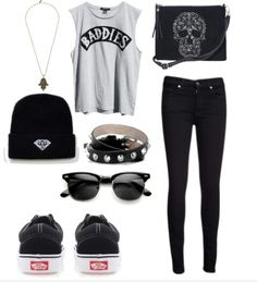 Punk enough clothes Concert Fashion, Concert Style, Concert Outfits, Horseback Riding Outfits, Teen Fashion, Womens Fashion, Dope Outfits, Comfortable Fashion, Winter Wear