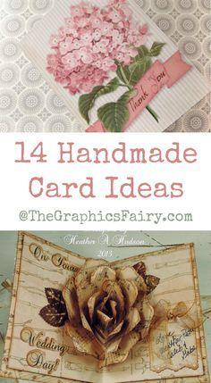 14 Handmade Card Ideas