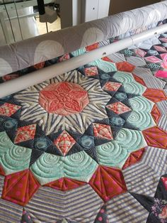 ed23cee2eacc7 angela walters on tula pink s quilt. the spirals could be good for my  blazing star quilt