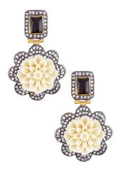 Blair Rosette Earrings by Bansri on @HauteLook