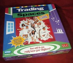 Brand New Trading Spaces TLC Game - This is a great one for family game night! #BienleinDesignFinds