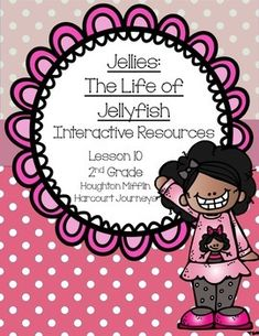 """This is a great interactive unit to use with """"Jellies: The Life of Jellyfish."""" It goes along with the Journeys second grade reading series. Unit 2 Lesson 10."""