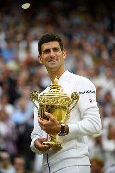 Novak Djokovic 2015 Wimbledon Champion.