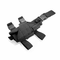 Cisno Drop Leg Adjustable Right Handed Tactical Thigh Pistol Gun Holster Black -- You can get additional details at the image link. http://www.amazon.com/gp/product/B00L1V2XLQ/?tag=airsoft3638-20&pyx=130117211443