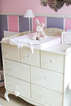 Custom bedroom designed by Baby Belle for Baby Isabella Belle French, Beautiful Babies, Little Ones, Nursery, Bedroom, Luxury, Interior, Table, Furniture