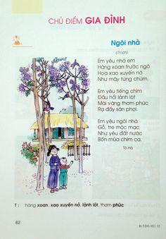 Bài 107: Gia đình - Sách Tiếng Việt Lớp 1 Vietnamese Language, Vietnam Holidays, Writing, Vietnam Vacation, Letter