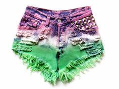 DIY color shorts