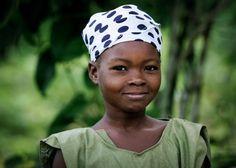 Village girl in Haiti