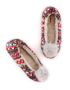 Knitted Slipper