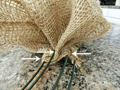 Spring Burlap Wreath this is a great tutorial, wish I had this when I made mine!