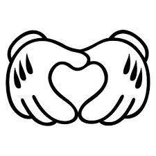 ミッキーマウス 手 イラストの画像検索結果 Minnie ミッキーマウス