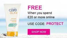 FREE Pure & Sensitive Face & Body Sun Lotion SPF50 get yours today www.bevsbeautyshop.uk