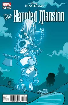 Disney Kingdoms Haunted Mansion Cover C Variant Skottie Young Baby Cover Comic Book Artists, Comic Artist, Comic Books Art, Baby Marvel, Chibi Marvel, Deadpool Chibi, Skottie Young, Alternative Comics, Midtown Comics