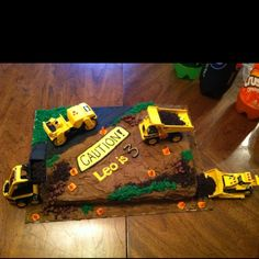 Cake I made for my nephews 3rd birthday!