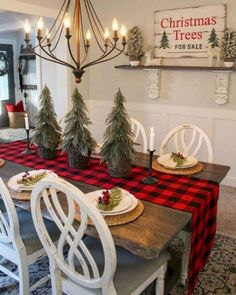 Looking for for pictures for farmhouse christmas decor? Browse around this site for unique farmhouse christmas decor ideas. This unique farmhouse christmas decor ideas appears to be absolutely terrific. Christmas Tree Sale, Christmas Home, White Christmas, Plaid Christmas, Ideas For Christmas Trees, Beautiful Christmas, Christmas 2019, Christmas Decorations For Outside, Rustic Christmas Trees