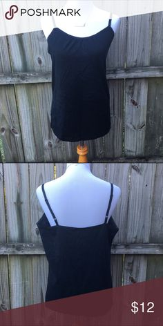 Lane Bryant Tank Black tank top in good condition. Perfect for layering. Size 14/16 Lane Bryant Tops Tank Tops