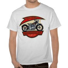 CROCKER MOTORCYCLE T-SHIRTS.