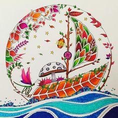 #johannabasford coloring postcards