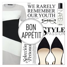 """""""Bon Apetit"""" by lucky-1990 ❤ liked on Polyvore featuring NARS Cosmetics and Nine West"""