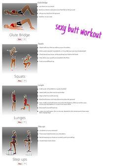 Sexy butt workout