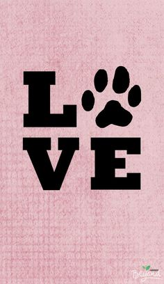 Love is a four-legged word.