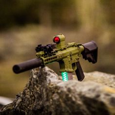 """""""Ever wonder what Noveske 220 gr 300 blackout with glow in the dark ballistic tips look like at night in a clear mag? Wonder no more. #shitgotmoreawesome…"""""""