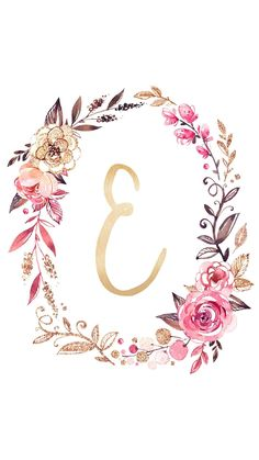 New wallpaper iphone cute monogram pink ideas Wallpaper Iphone Cute, New Wallpaper, Cute Wallpapers, Floral Wallpapers, Iphone Wallpapers, Wallpaper Quotes, Monogram Wallpaper, Alphabet Wallpaper, Floral Letters