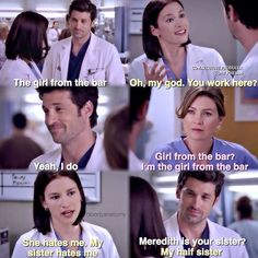 Mer❤️Der and Lexie Greys Anatomy Episodes, Greys Anatomy Funny, Grays Anatomy Tv, Grey Anatomy Quotes, Grey Quotes, Tv Quotes, Movie Quotes, You Are My Person, Lexie Grey
