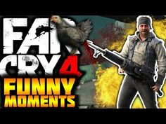 EXTREME CHICKEN HUNTING - FAR CRY 4 FUNNY MOMENTS #1 - (w/MrPhyko) - YouTube