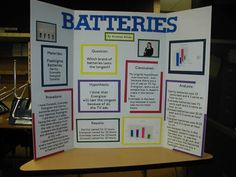 ... battery science fair project fair ideas science projects science fair