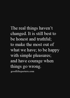 The real things..
