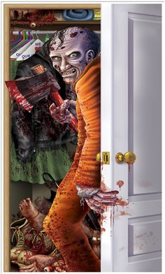 Scary monster in the closet