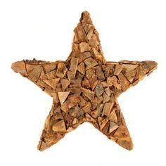 Wood Chip Star | Kirklands