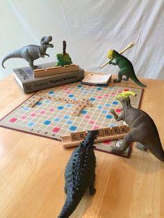 Dinovember Scrabble