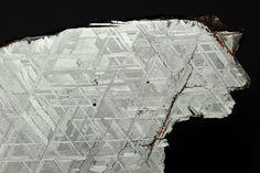 Vanadinite crystals on white barite