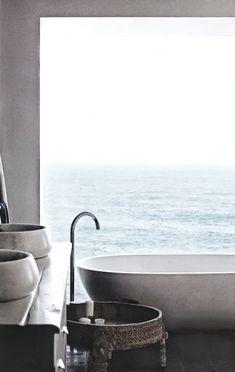 Ideas For a Luxury Spa Bathroom Remodel Beach Bathrooms, Bathroom Spa, Bathroom Ideas, Kmart Bathroom, Paris Bathroom, 1950s Bathroom, Outdoor Bathrooms, Minimalist Bathroom Design, Modern Bathroom Design