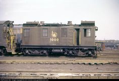CNJ 1000 - the first commercial diesel locomotive in US