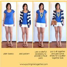 Wearing Clothes vs Wearing an Outfit {Outfit styling tips} -