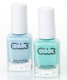 Look at this #zulilyfind! Take Me To Your Chateau & Blue-Ming Nail Polish Set by Color Club #zulilybday