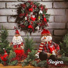 Nós adoramos o Natal, com todas as suas cores e sensações. E você, também gosta dessa época mágica?  #NatalRegina #DecoraçãoDeNatal #FestaDeNatal #NatalCriativo #DecoreNatal #NatalMágico #Natal #ReginaFestas #FizComRegina #FaçaComRegina