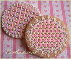 Needlepoint cookies | Cookie Connection
