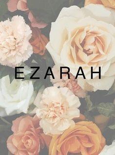 Baby Names Ezarah. Unisex names, baby names, female or male names. Biblical names, strong f...
